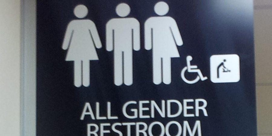 Transgender restroom.