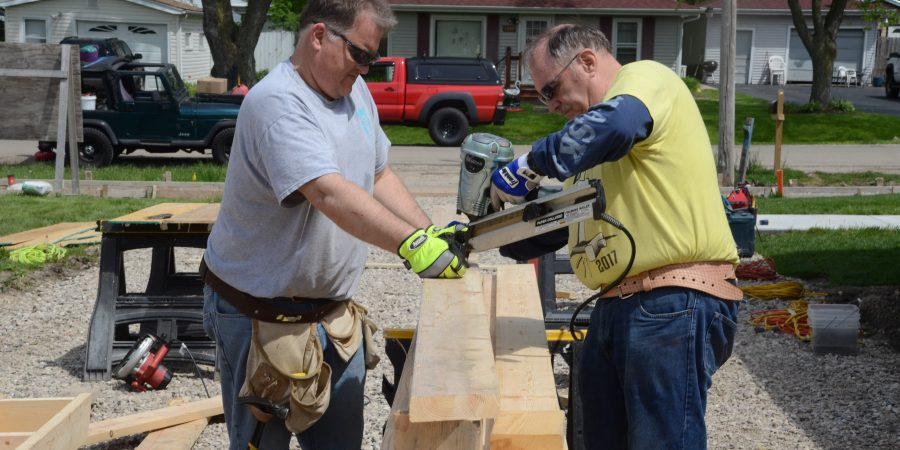 Fox Valley Habitat for Humanity at work