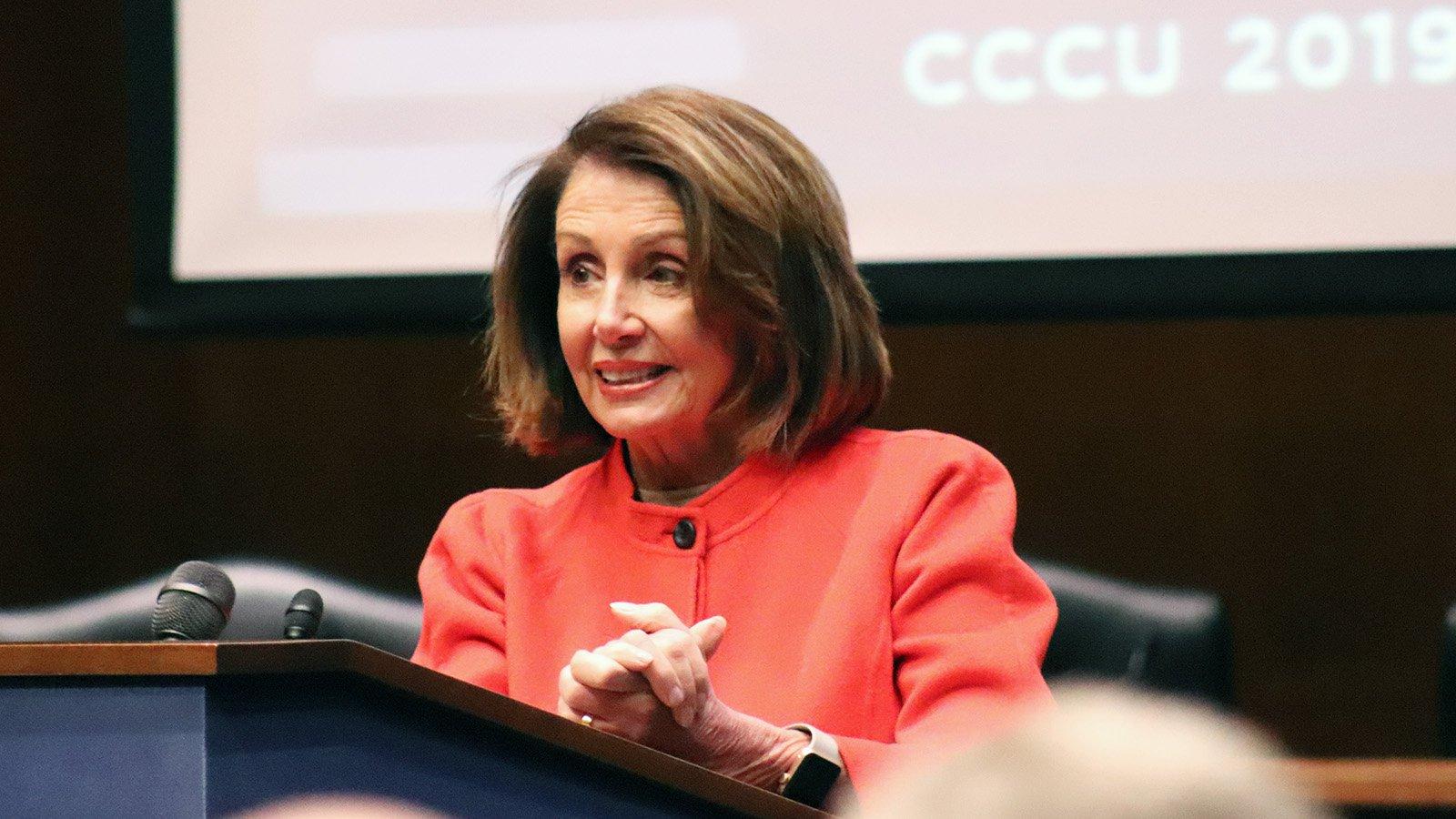 Nancy Pelosi at CCCU