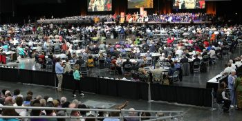 Methodist Church special session in St. Louis 2019.