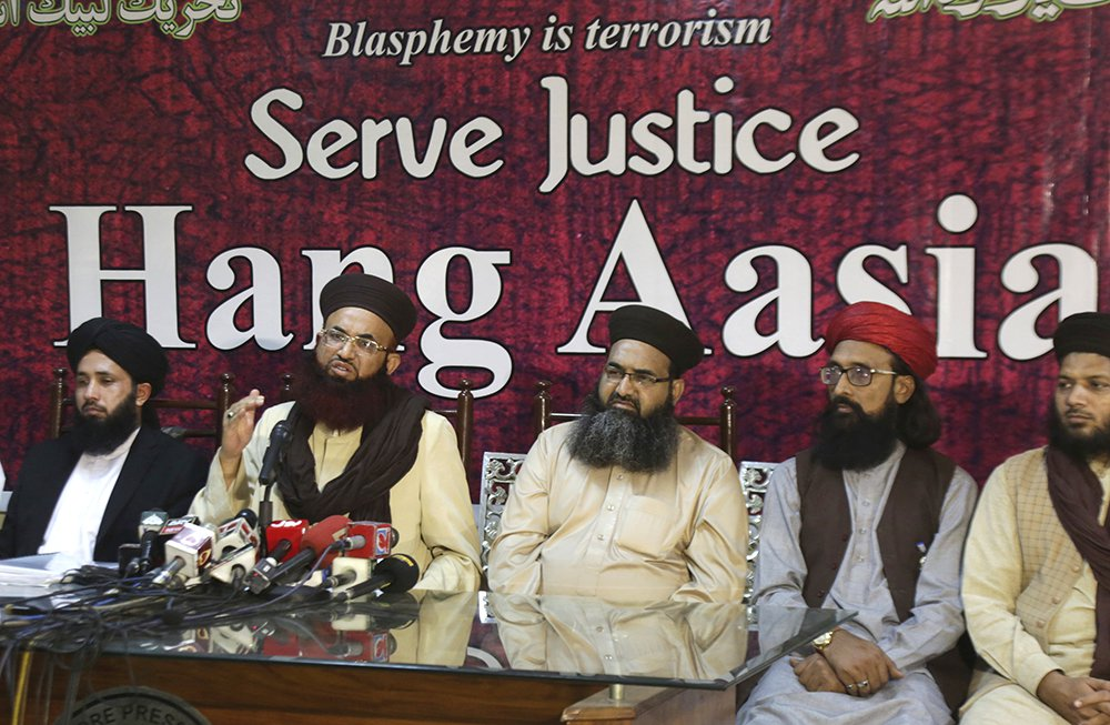 Leaders call for hanging of Asia Bibi.