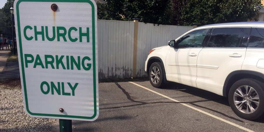 Church parking tax - the story.