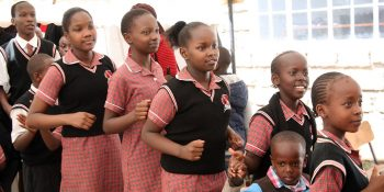 Kenya school students