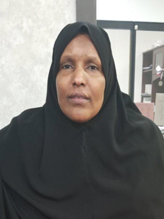 Refugee Khadra Abdo