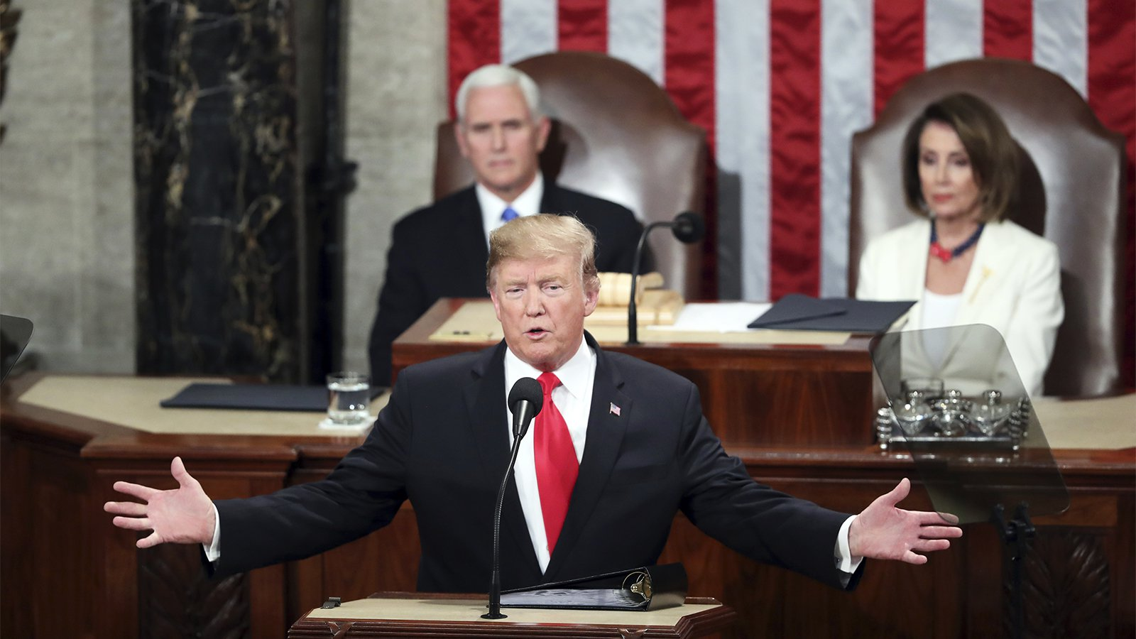 State of the Union presented by President Trump