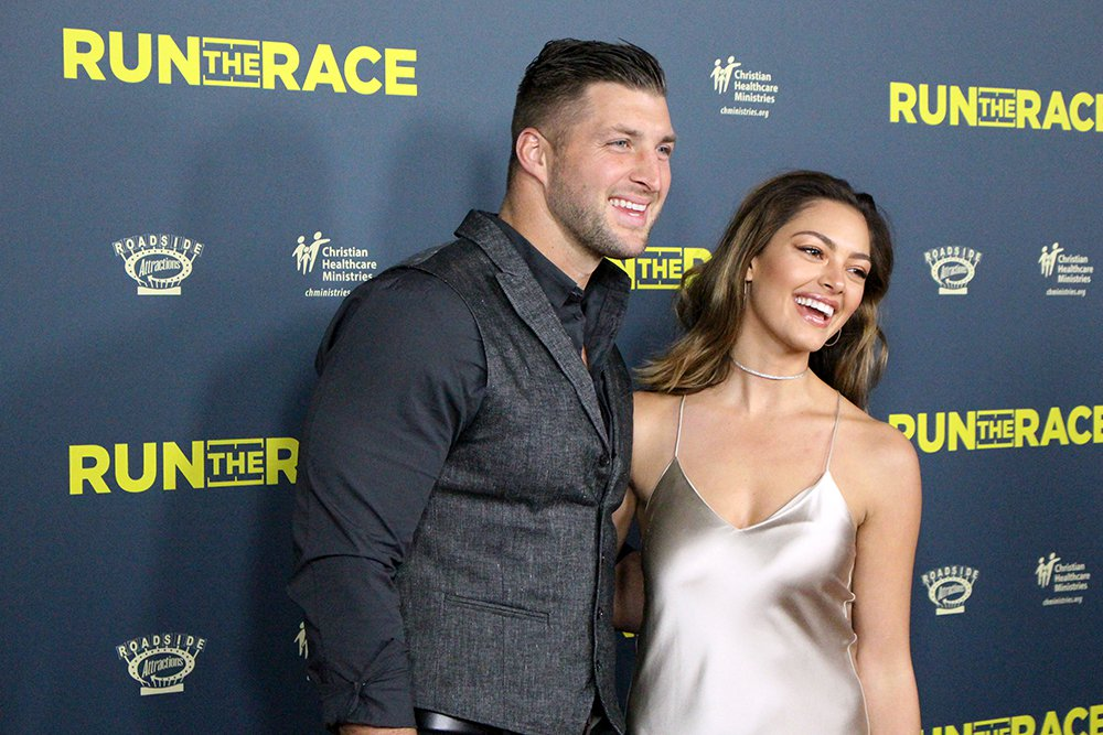 Tim Tebow and fiancee.