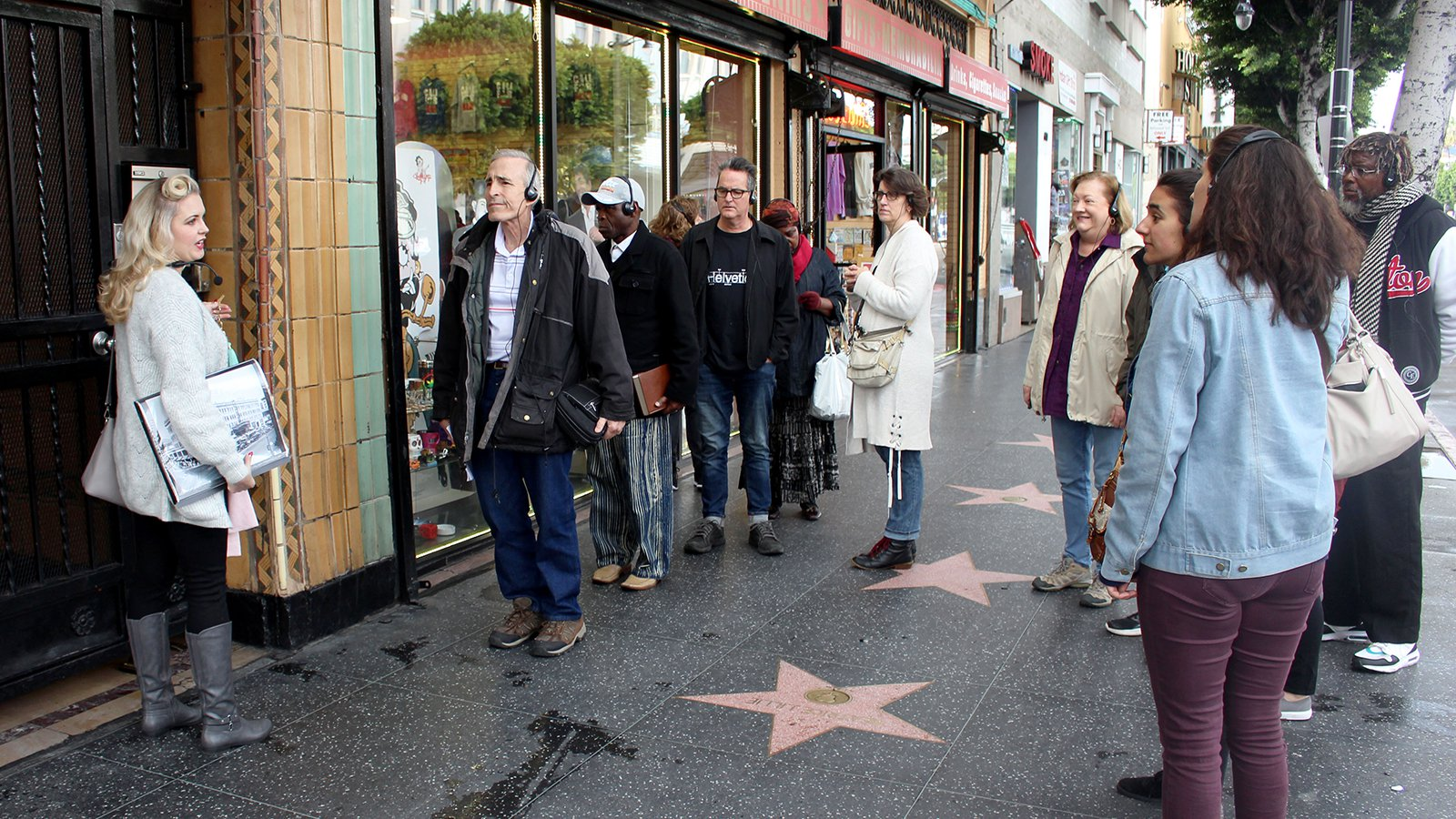 Tour looks at Christian beginnings of Hollywood.