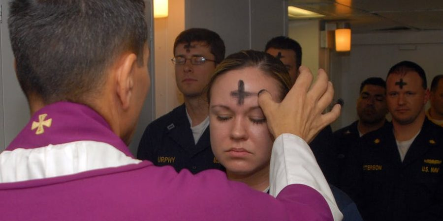 Ashes on Ash Wednesday
