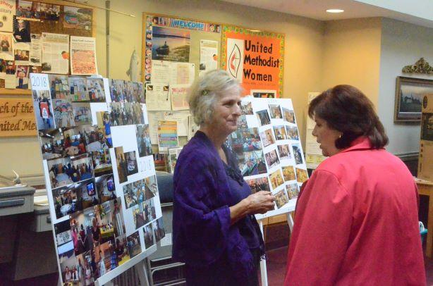 United Methodist Women celebrate by Oswego Methodist women.