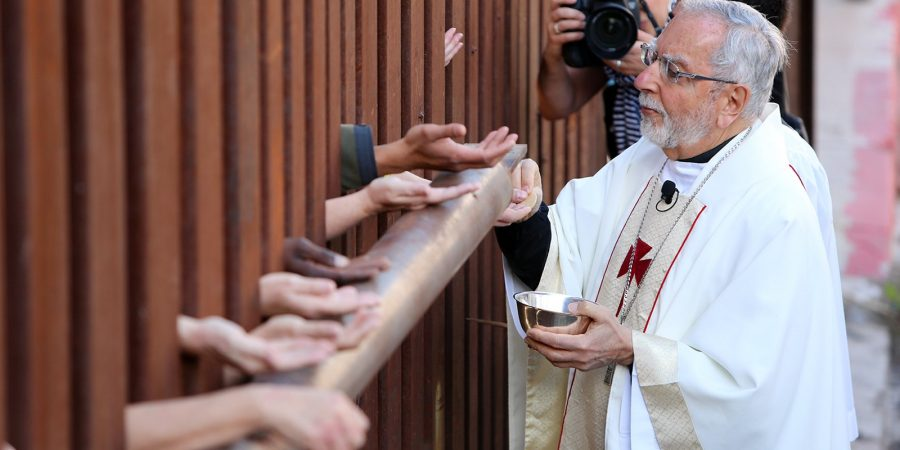 Catholic bishops at US/Mexico border.