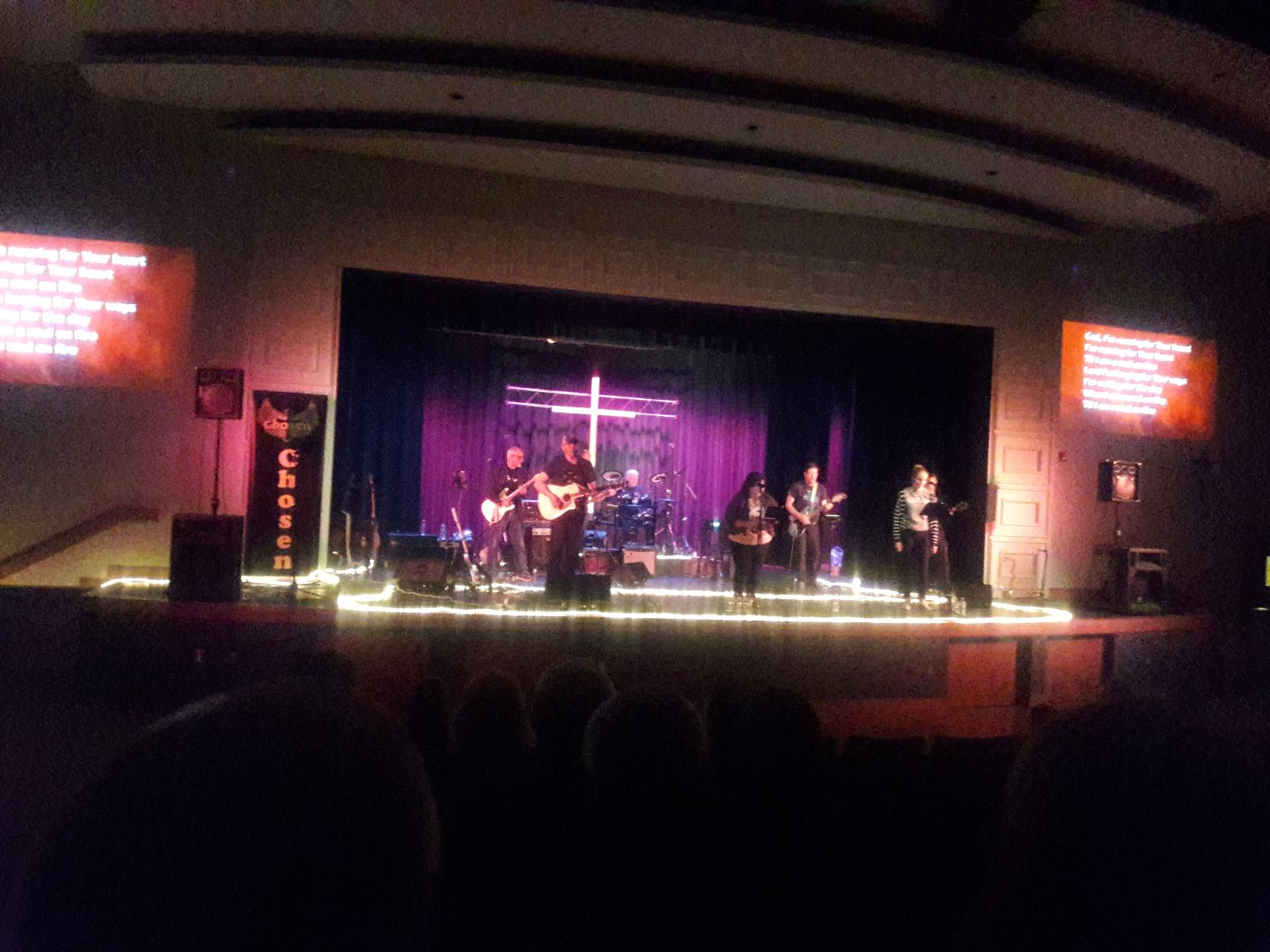 "Christian band ""Chosen"" plays at Rosary High School"