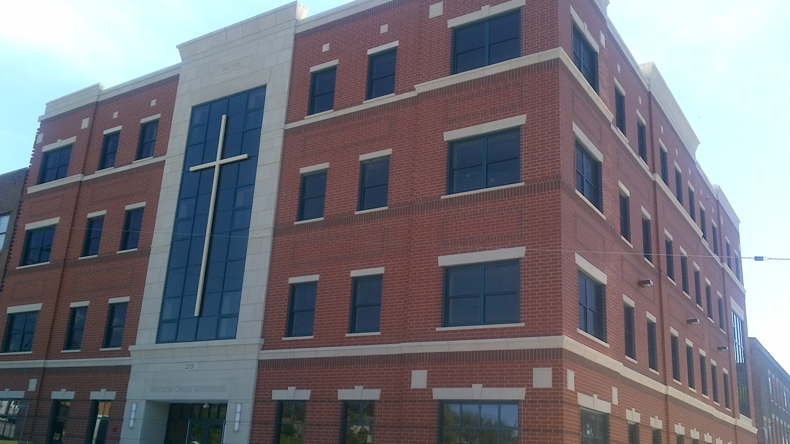 Wayside Cross Ministries 215 building.