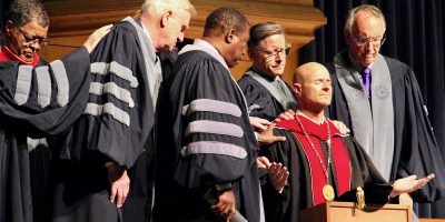 Moody Bible Institute installation of president.