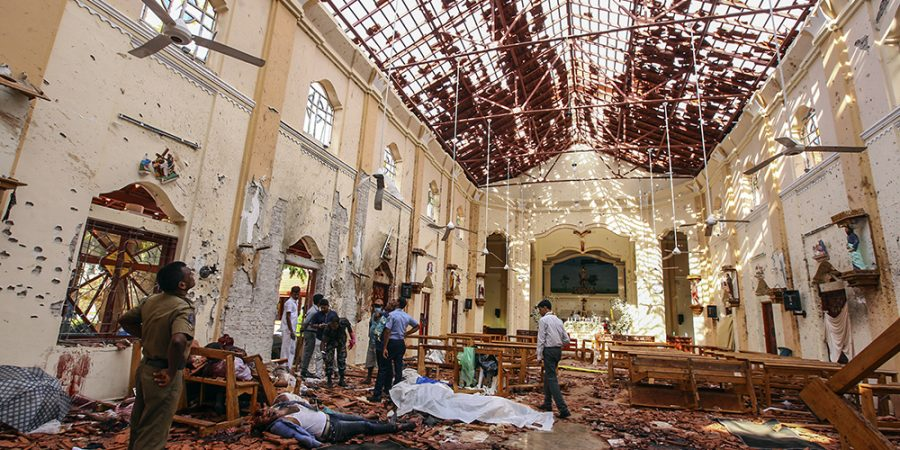 Sunday Mass canceled across Sri Lanka