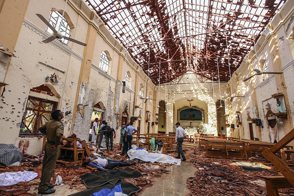 Sri Lanka's Christians suffering by bombings
