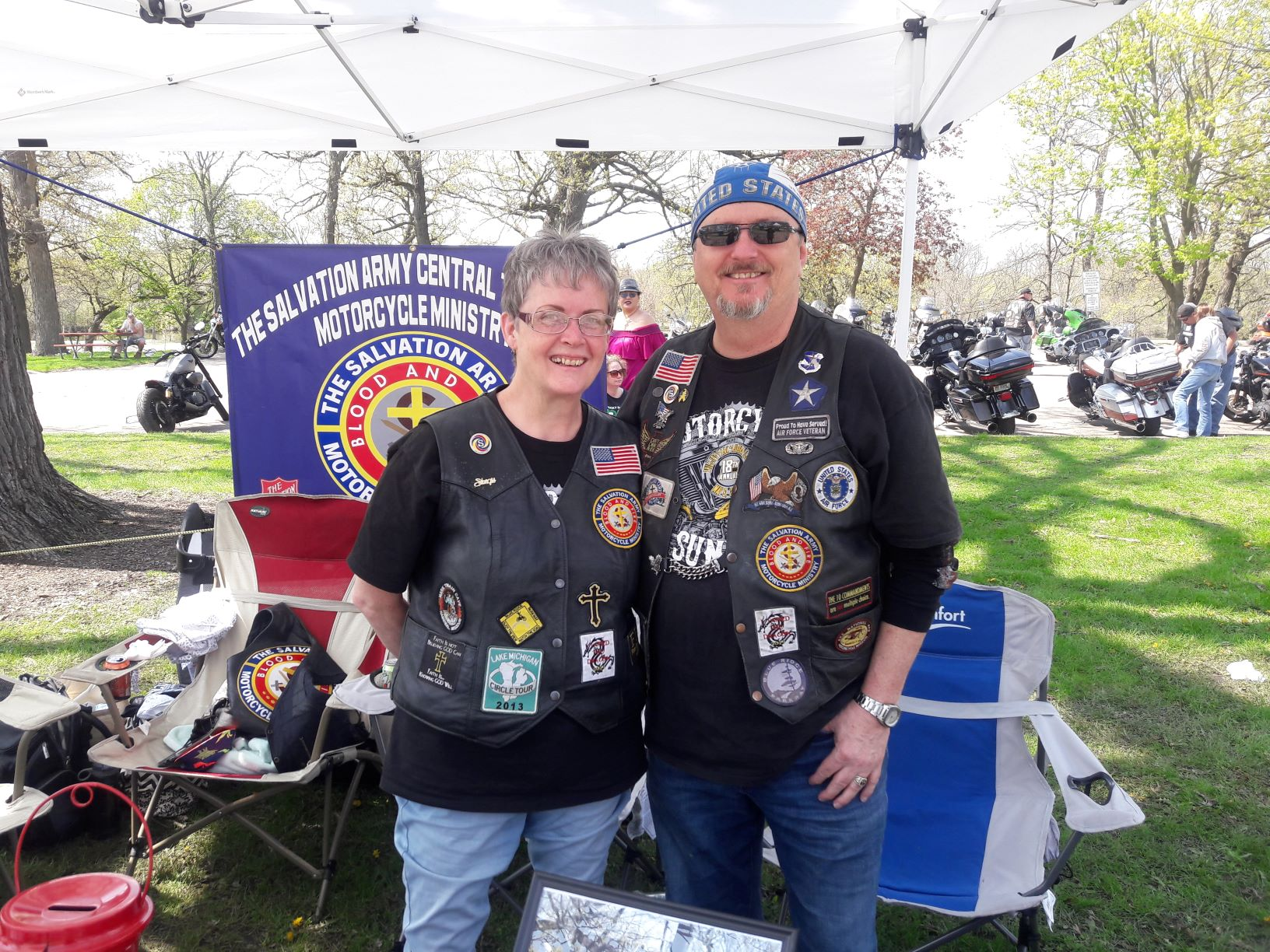 Motorcycle Sunday 2019 with Salvation Army.
