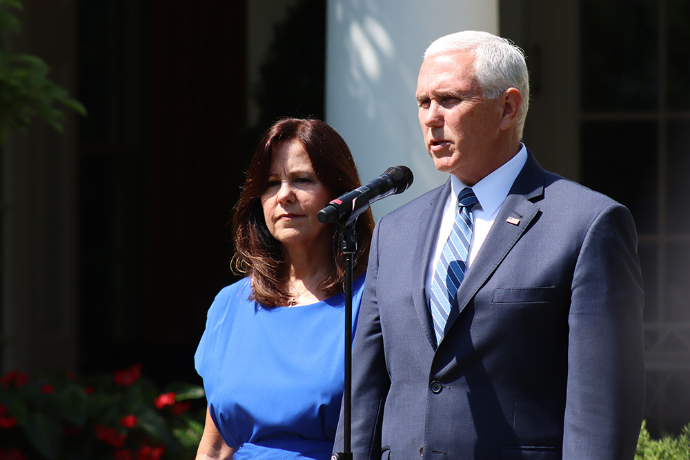 National Day of Prayer at White House with VP Mike Pence
