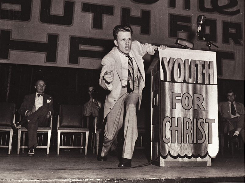 Youth for Christ with Billy Graham
