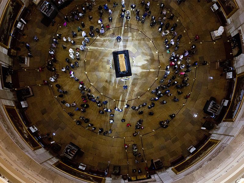 Funeral in U.S. Capitol