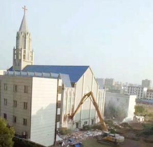 Persecution of Gou Zhongcan... churches destroye