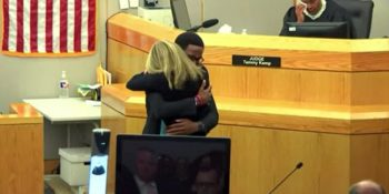 Brother shows he wants to forgive Amber Guyger.