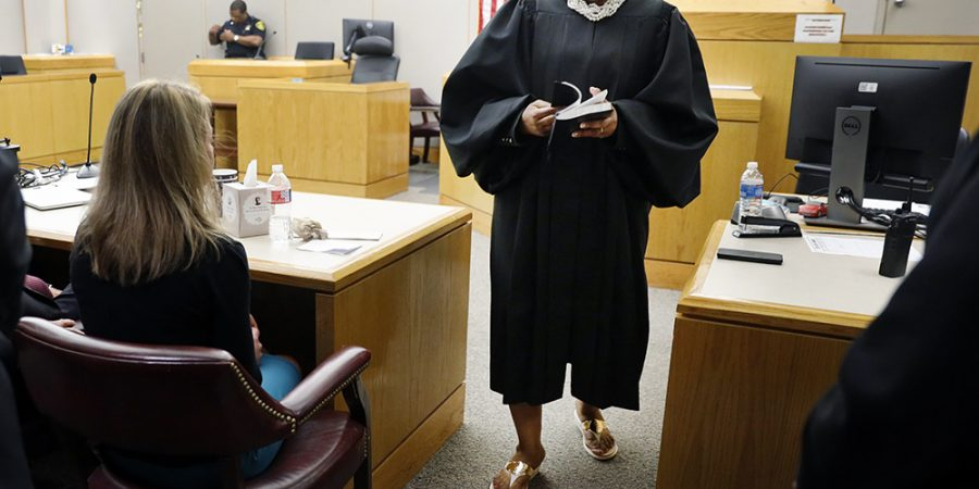 judge gave Bible