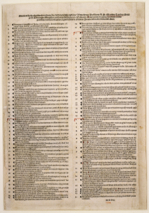Martin Luther posted the Ninety-five Theses in 1517