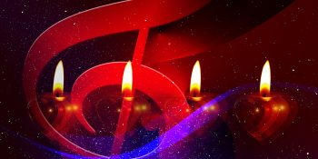 Advent Four Candle & Music