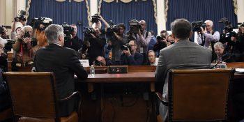 Impeachment inquiry begins.
