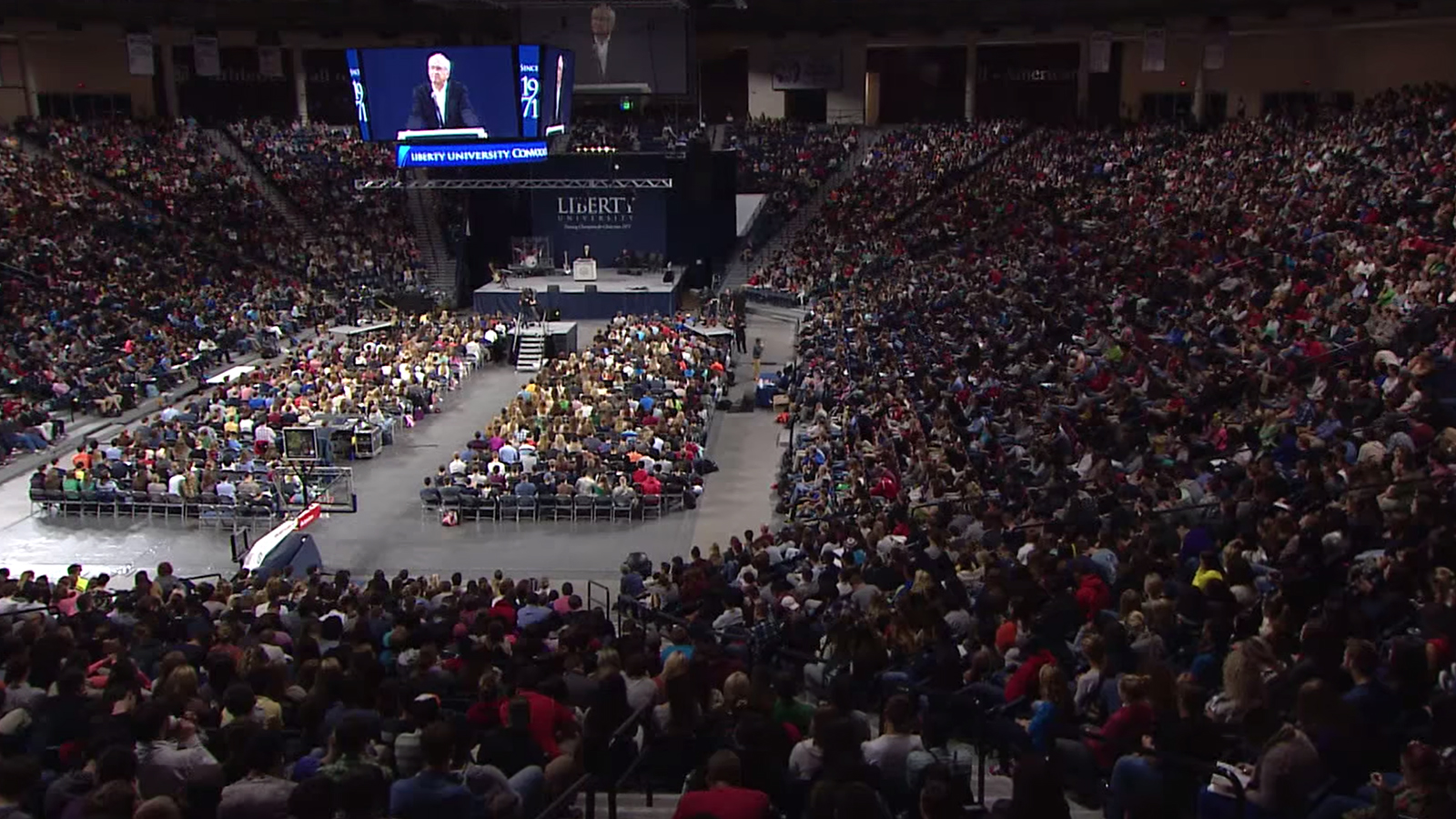 Speaking at Liberty University