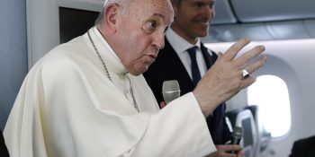 Pope Francis discusses nuclear weapons