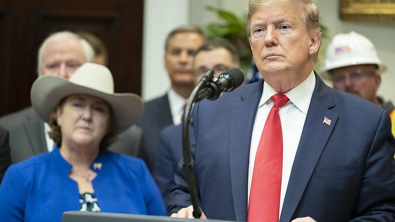 Trump at White House