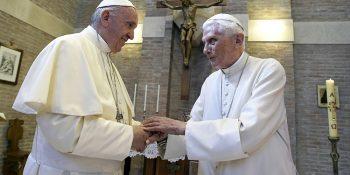 Pope Emeritus Benedict XVI,Pope Francis