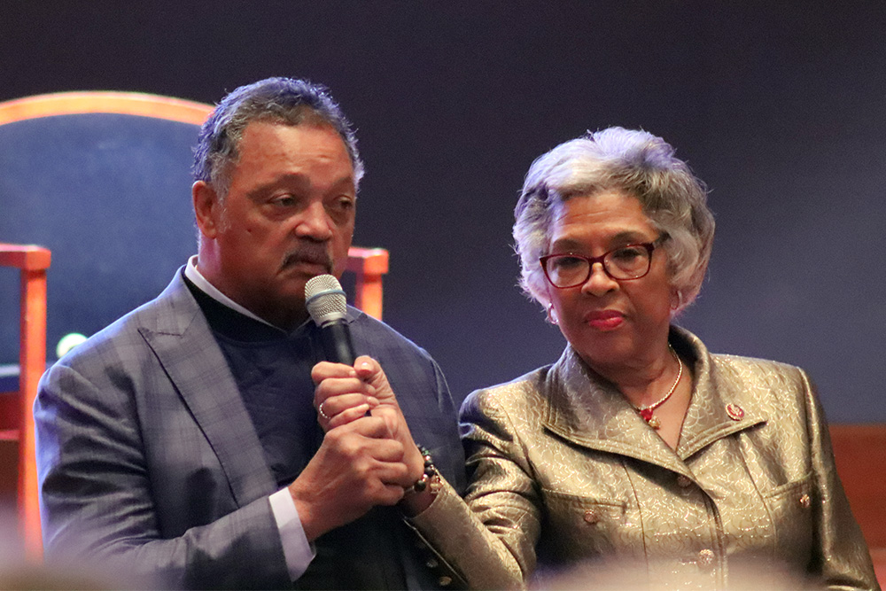 Rev. Jackson call to mobilize poor voters at  Black Caucus.