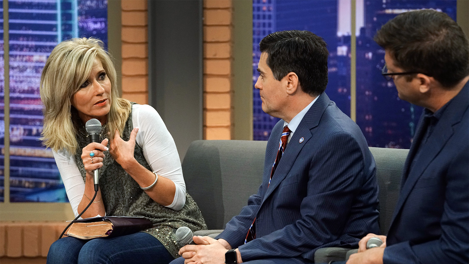 Russell Moore and Beth Moore