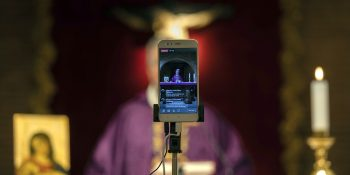 church technology in Spain during COVID-19 crisis