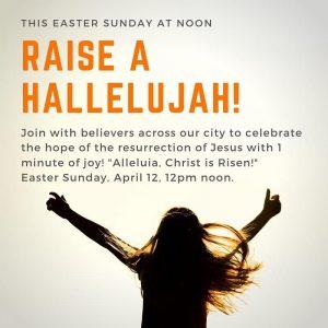 Hallelujah on Easter