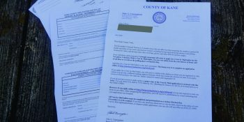 Vote-by-mail ballot application