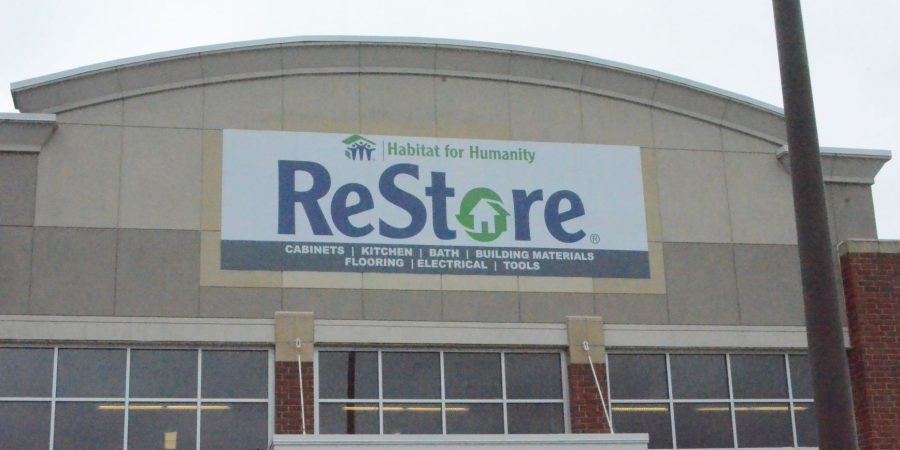 Habitat for Humanity installs ReStore sign, seeks donations for Sept. 25 opening