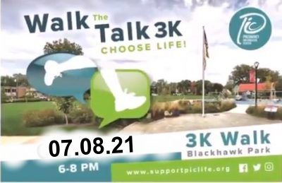 Interview with the head of Pregnancy Information Center on Thursday's walk