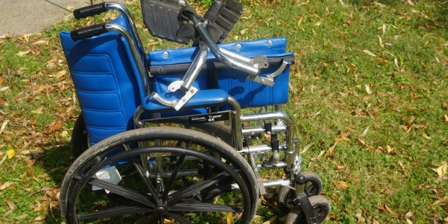 Dad's wheelchair