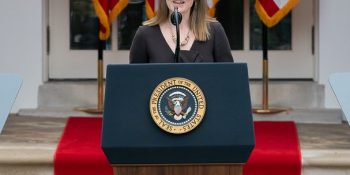 Amy Coney Barret at the White House