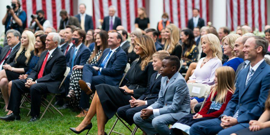 White House crowd