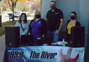 The River radio team at Prisco's