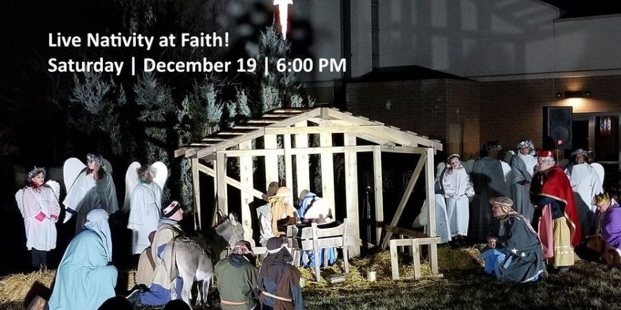 Faith Lutheran Live Nativity