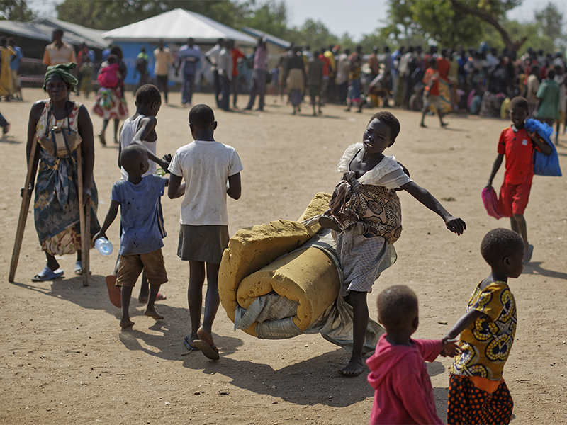 Increase of refugee cap for Africa
