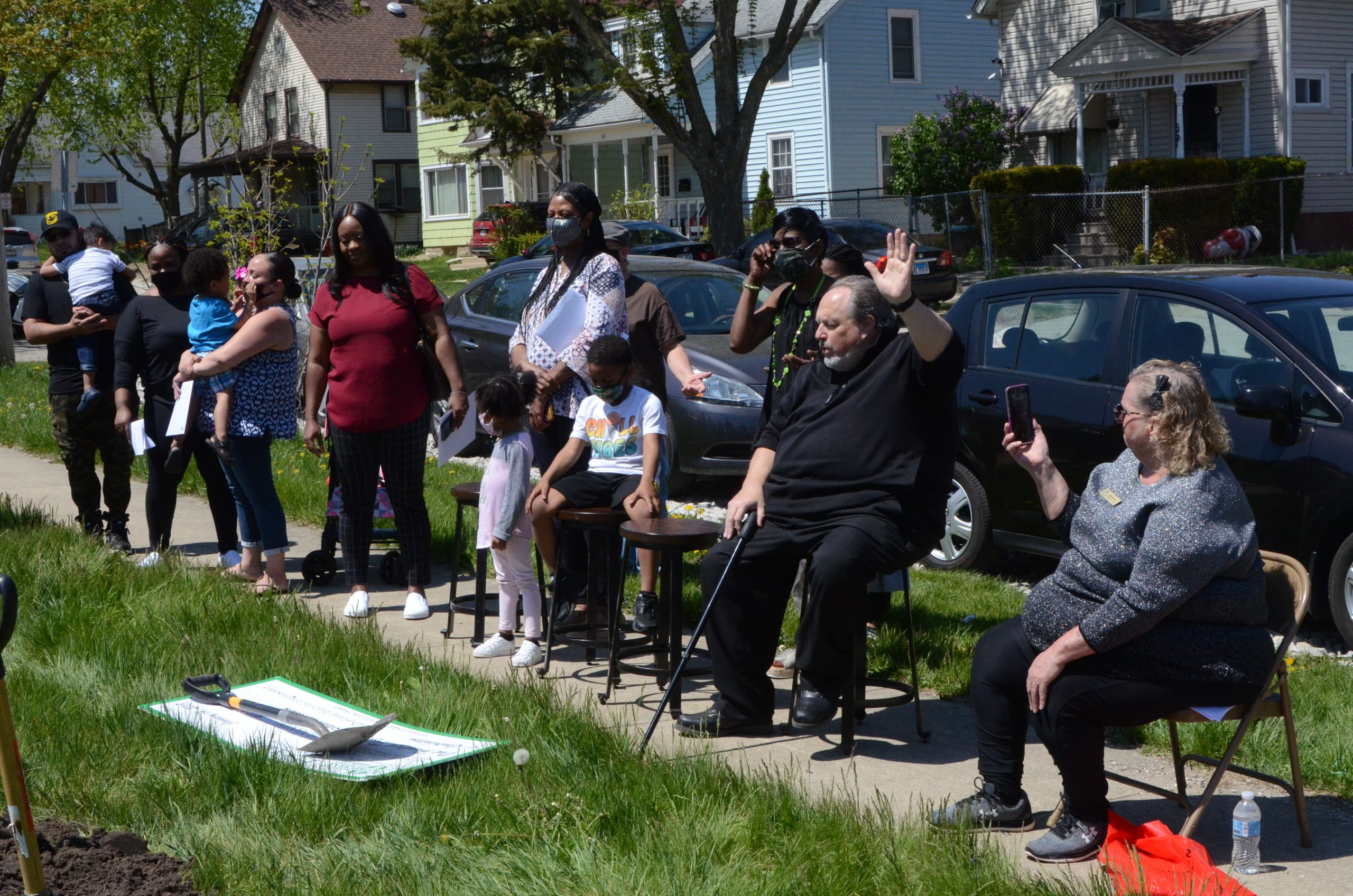 Ground Breaking for Cristal Lopez Home