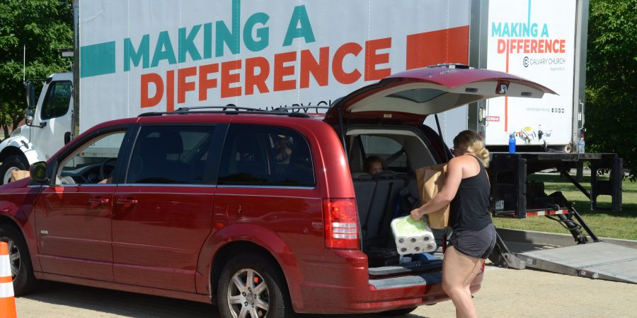 Aurora mobile food pantry Friday, July 9 (tomorrow)